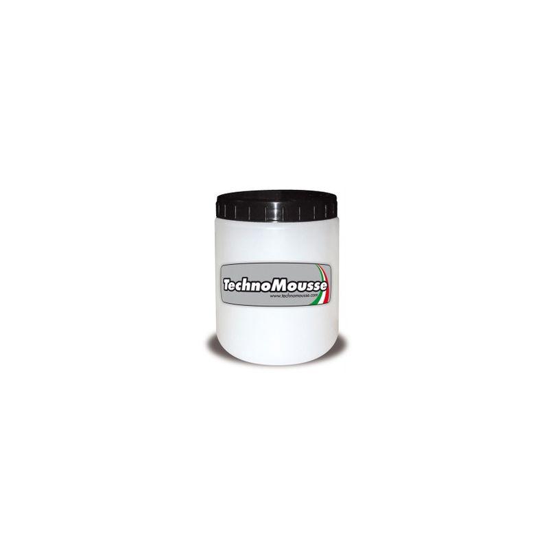 Barattolo da 1 kg di gel Technomousse per facilitare l inserimento delle mousse