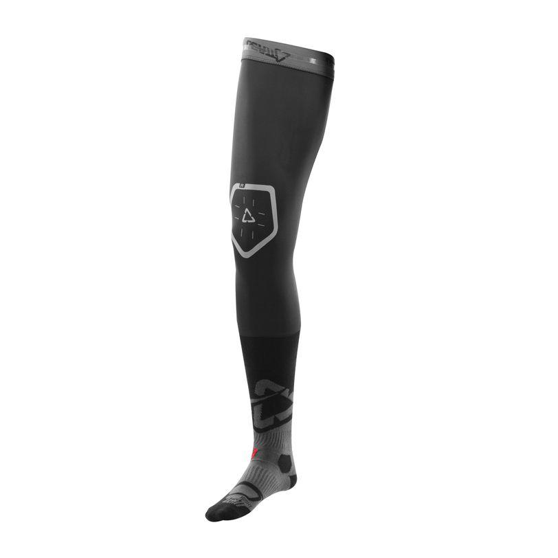 Calze per tutore ginocchio in tessuto traspirante con rinforzo nella caviglia e tallone