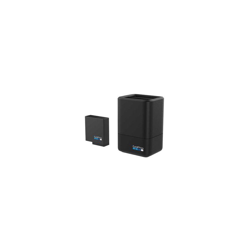 Caricabatteria doppio GoPro + Batteria per HERO5 Black