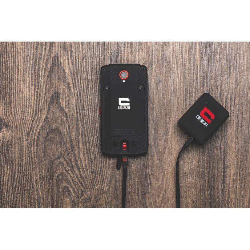 Caricabatterie con due porte USB da 2,1A e riserva di energia 3350 mA/h