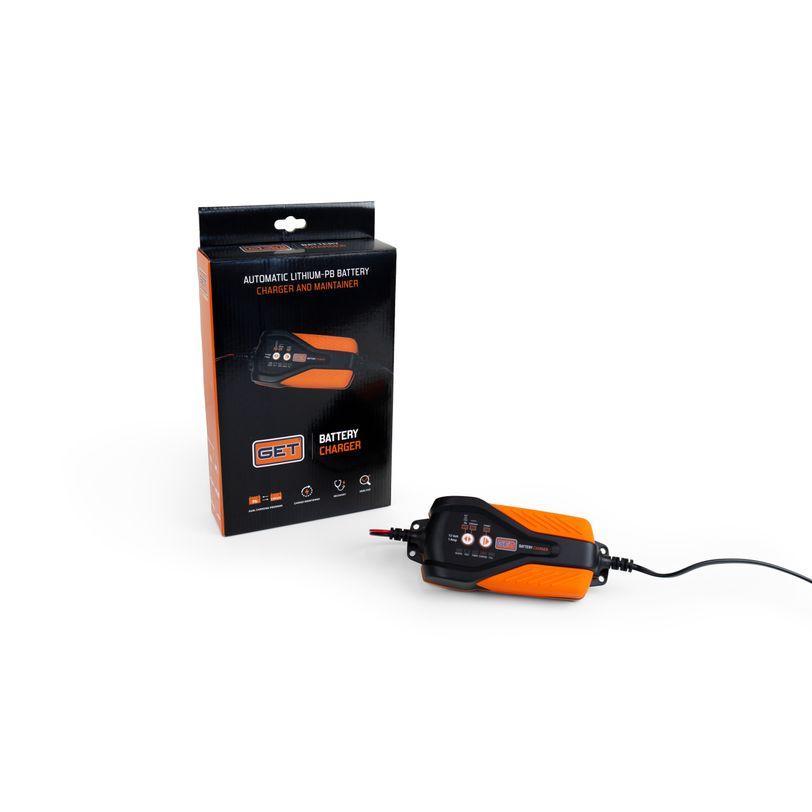 Caricabatterie e mantenitore automatico litio-piombo