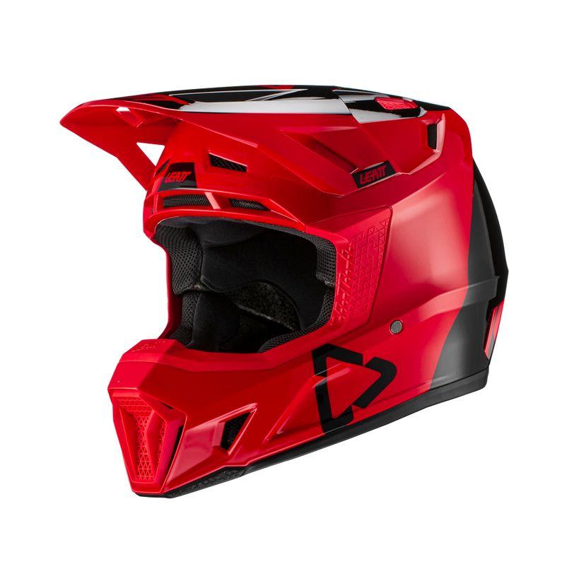 Casco da moto 7.5  protettivo con inclusa maschera moto