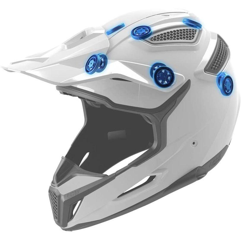 Casco da moto GPX 6.5 ultra leggero, in carbonio e con tecnologia 360° Turbine