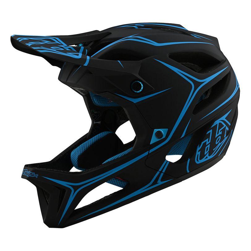 Casco MTB Stage Pinstripe massima protezione, super ventilato e perfetto per il Downhill
