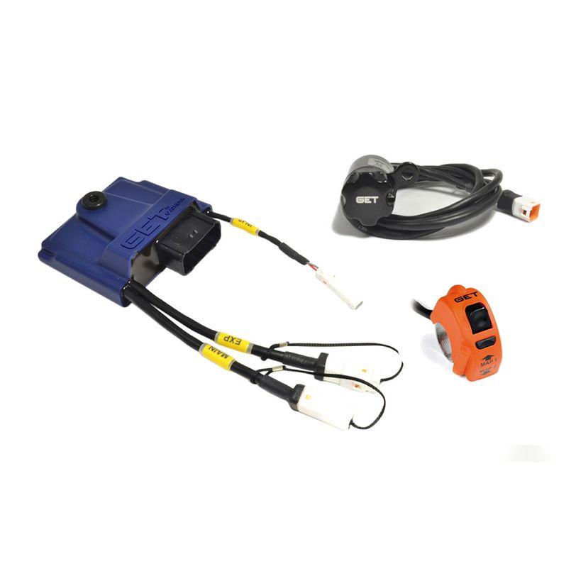 Centralina moto GP1 EVO con WiFiCOM, GPA Switch e Map Switch inclusi