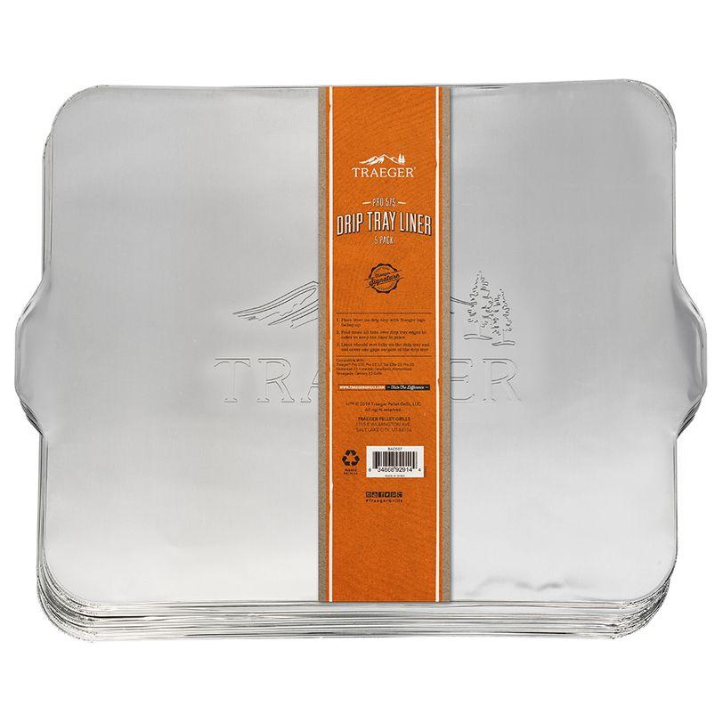 Coprileccarda in alluminio per BBQ Traeger Pro 575 5 pz