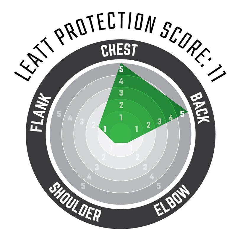 Corpetto protettivo smanicato 3DF AirFit in schiuma morbida e ventilata anti impatto