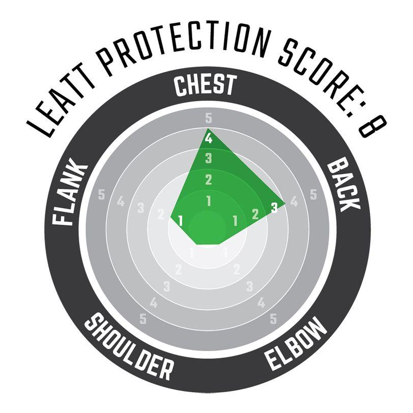 Corpetto protettivo smanicato 3DF AirFit Lite ultraleggero e ventilato