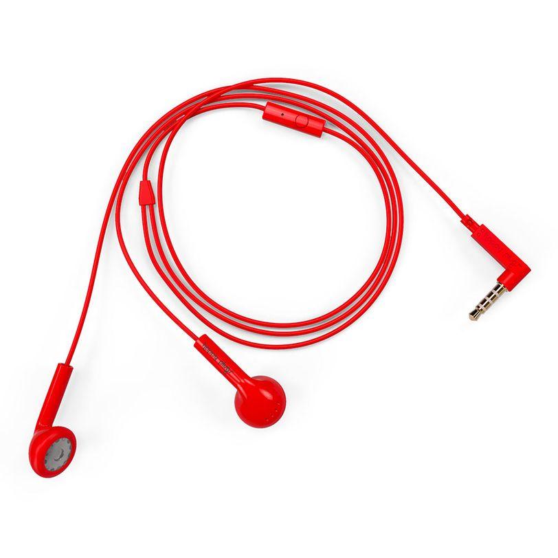 Cuffie con filo Earbud con tasto di risposta rapida alle chiamate e microfono