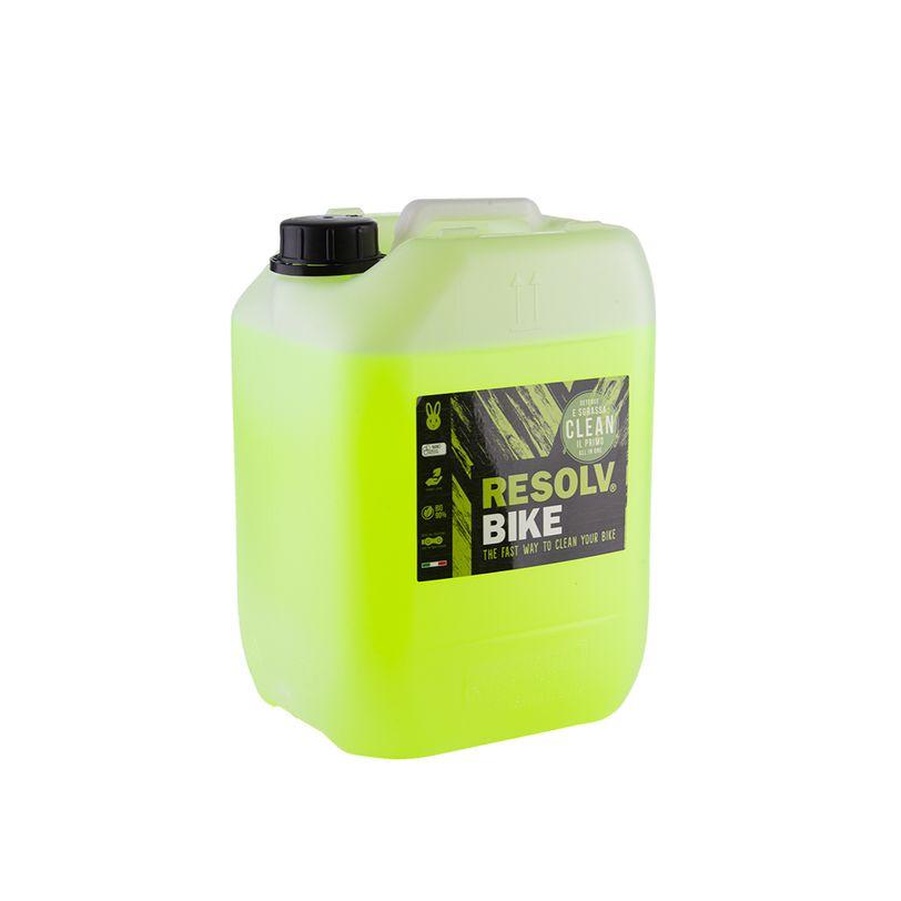 Detergente Resolvbike®Clean da 10 litri per lavaggio bici e moto