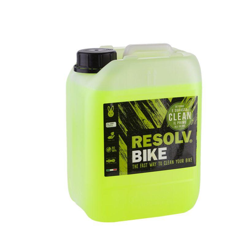 Detergente Resolvbike®Clean da 5 litri per lavaggio bici e moto
