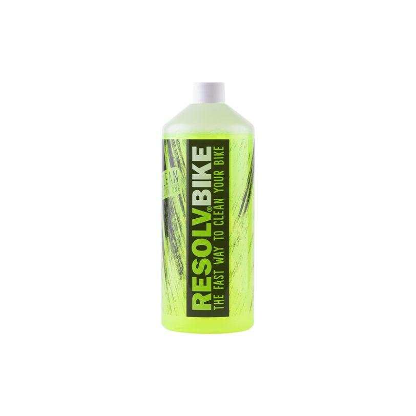 Detergente ricarica Resolvbike®Clean da 1 litro per lavaggio bici e moto
