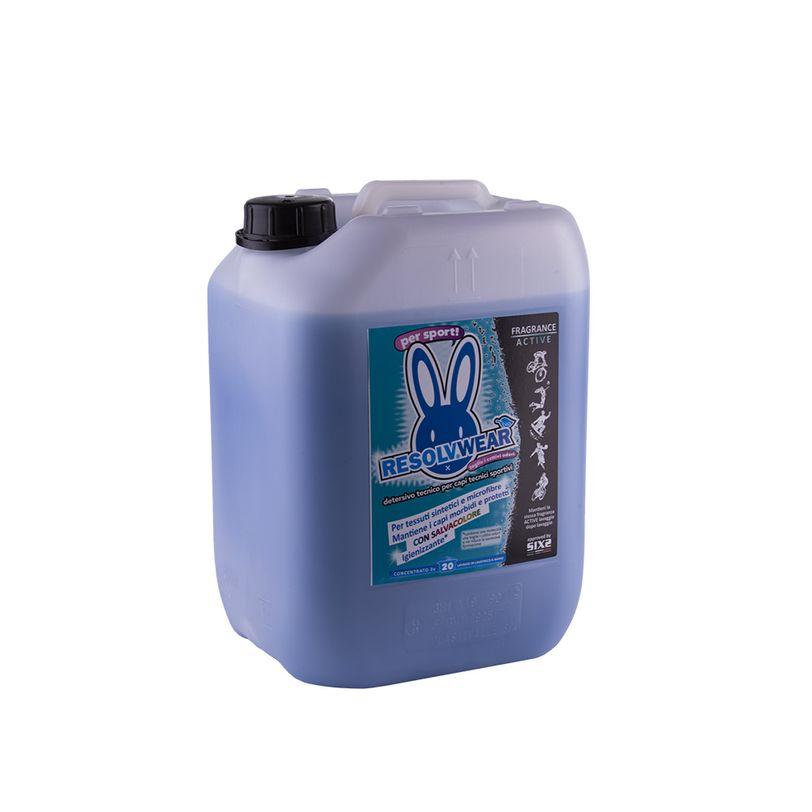 Detersivo per capi sportivi Fragrance Active ResolvWear da 10 litri