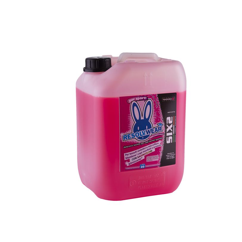Detersivo per capi sportivi Fragrance X ResolvWear da 10 litri