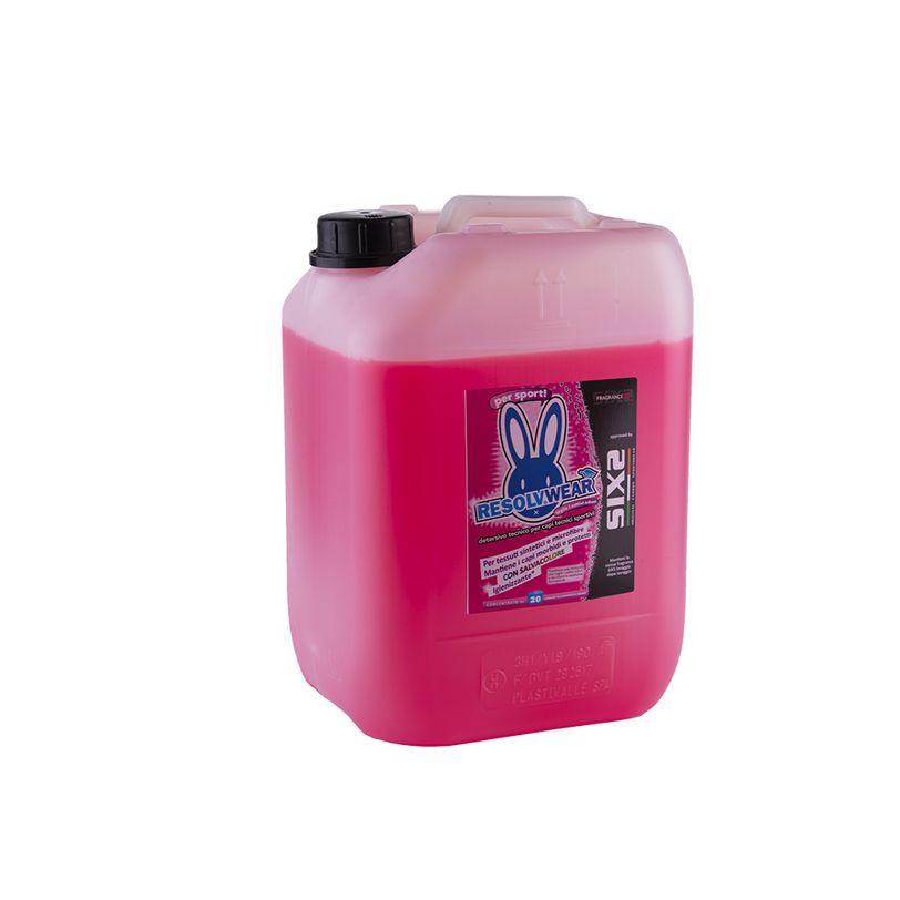 Detersivo per capi sportivi Fragrance X ResolvWear da 20 litri