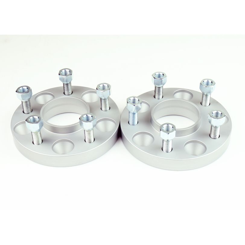 Double Bolt Wheel Spacer Kit with Pre-Installed Stud Bolts & Nuts - CHRYSLER/FCA 5x115x71.5 th.25mm