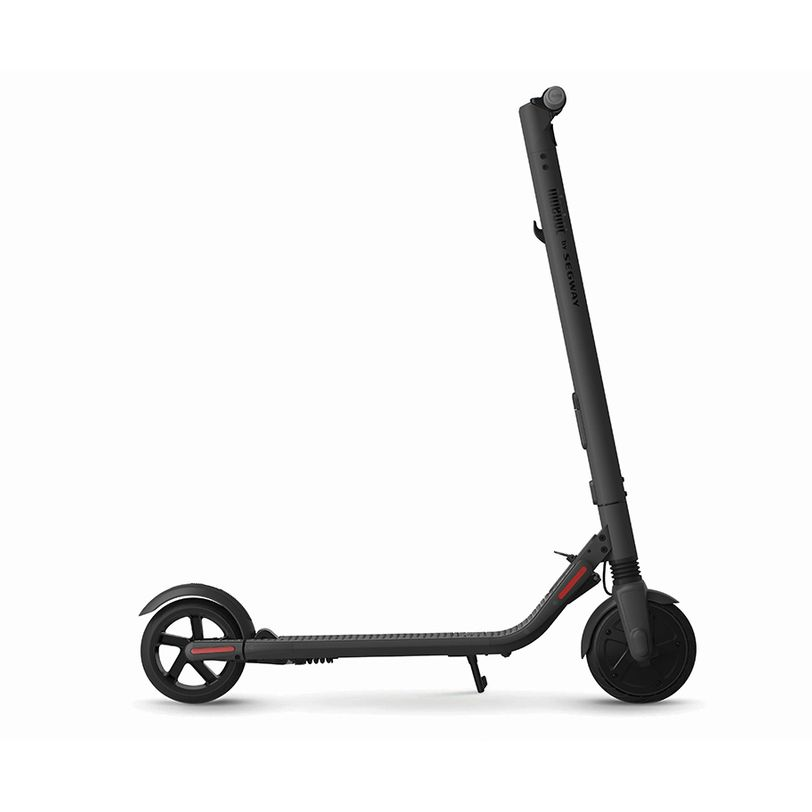 Electric scooter ES2 Dark Grey with foldable frame and cruise control