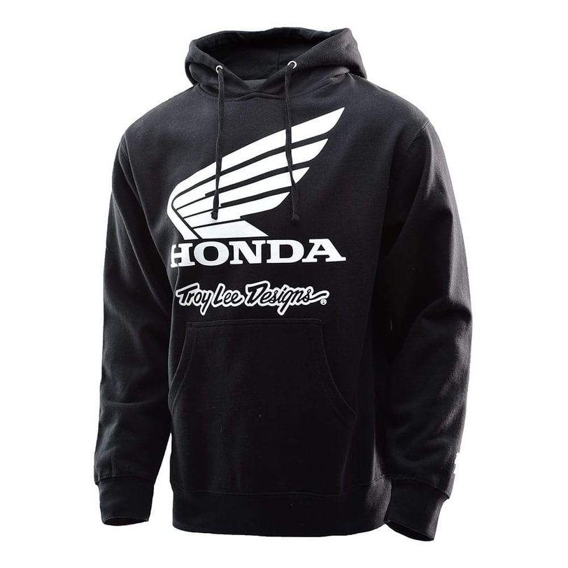 Felpa TLD Honda Wing con cappuccio da adulto