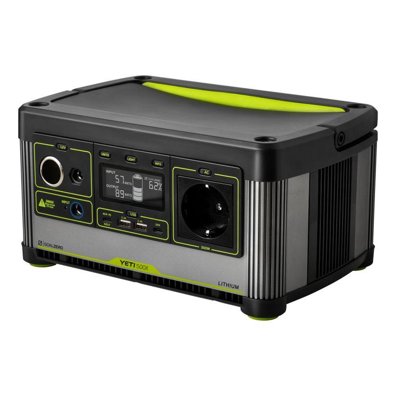 Generatore di corrente portatile Goal Zero Yeti 500X Lithium da 505Wh