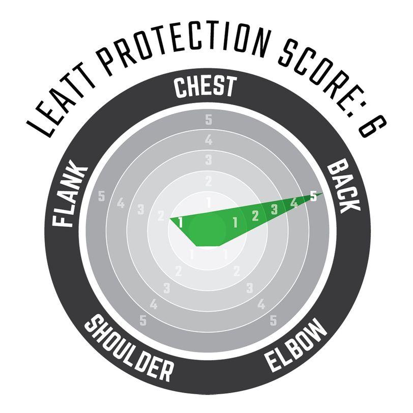 Gilet di protezione 3DF con maglia perforata e morbida schiuma anti impatto