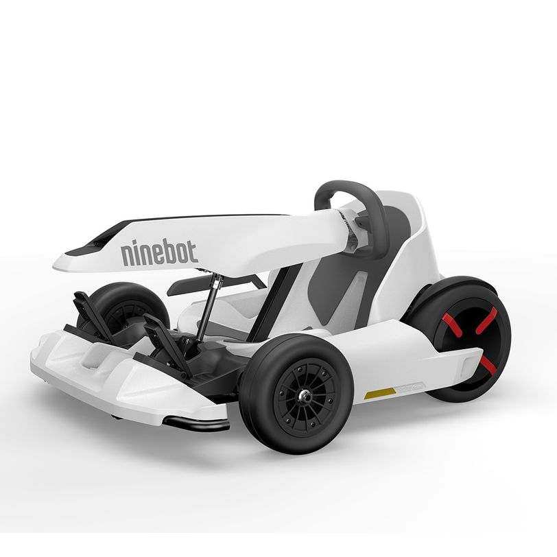 Go kart elettrico con tre modalità di guida, telaio e ruote regolabili