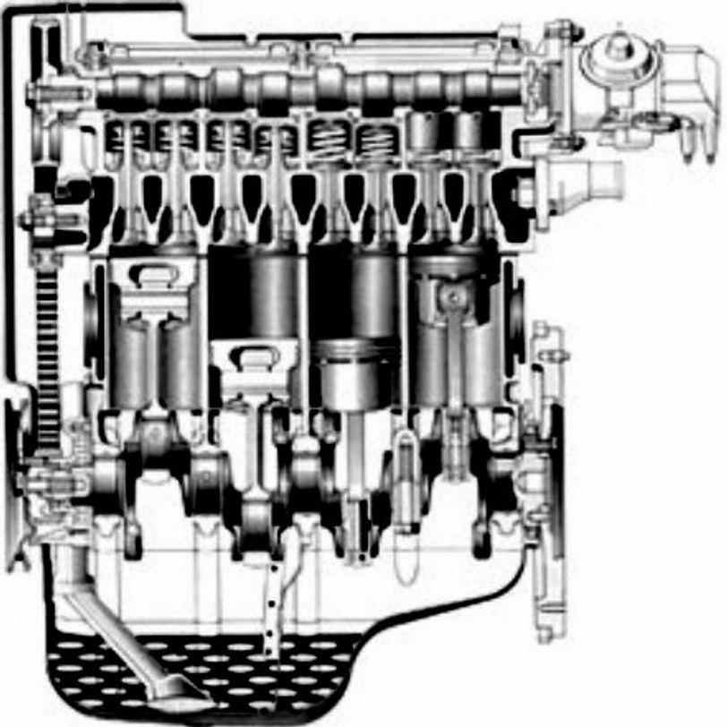 Kit Guarnizioni Motore senza Guarnizione Testa, con Paraolio