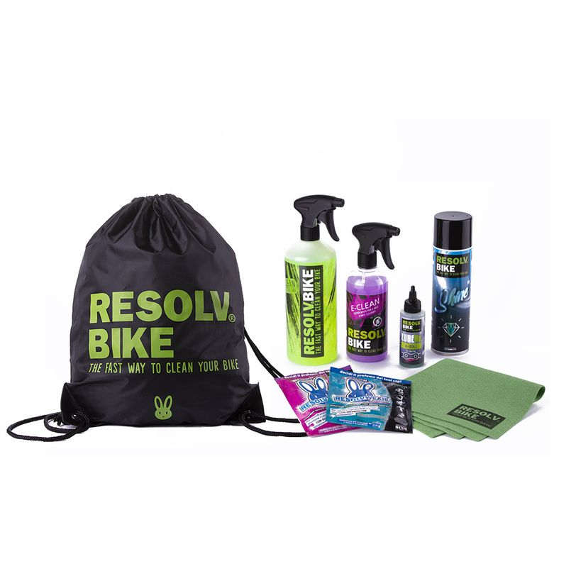Kit pulizia bici elettrica Starter Kit E-Bike