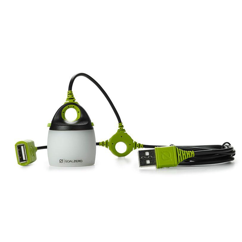Luce a LED compatta da 110 lumen Goal Zero Light-A-Life Mini con moschettone