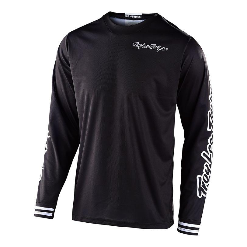 Maglia motocross GP Mono manica lunga con vestibilità confortevole da ragazzi