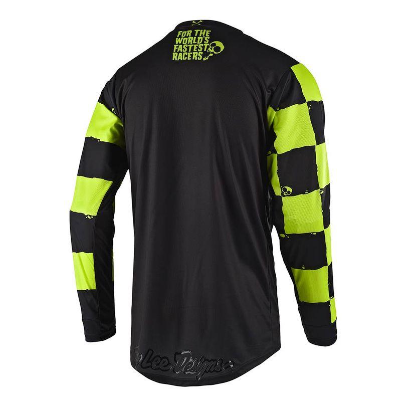 Maglia motocross GP Race Shop 5000 a manica lunga con vestibilità confortevole