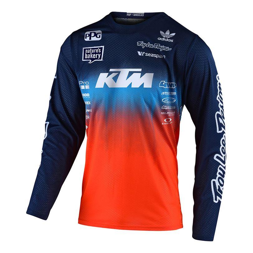 Maglia motocross GP Stain'd Team a manica lunga con vestibilità confortevole da ragazzi