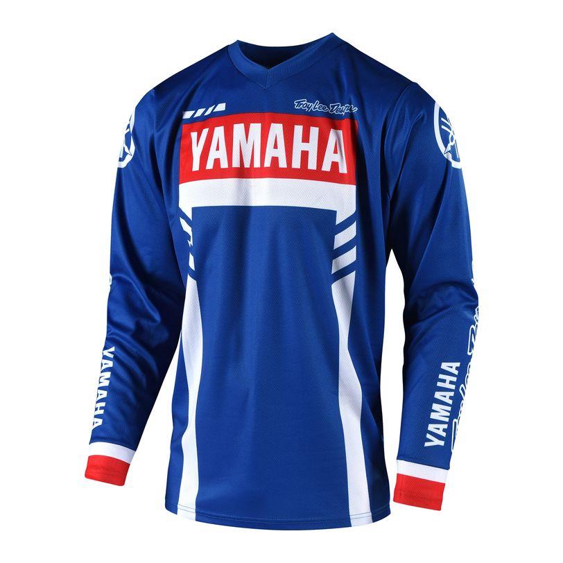 Maglia motocross GP Yamaha RS1 a manica lunga altamenteconfortevole