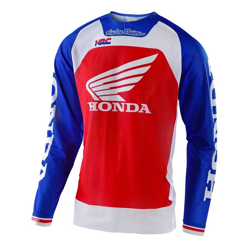 Maglia motocross SE Pro Air Boldor Honda a manica lunga ultra ventilata e leggera