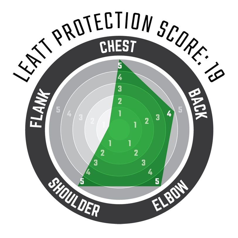 Maglia protettiva 4.5 a maniche lunghe con schiuma anti impatto 3DF AirFit