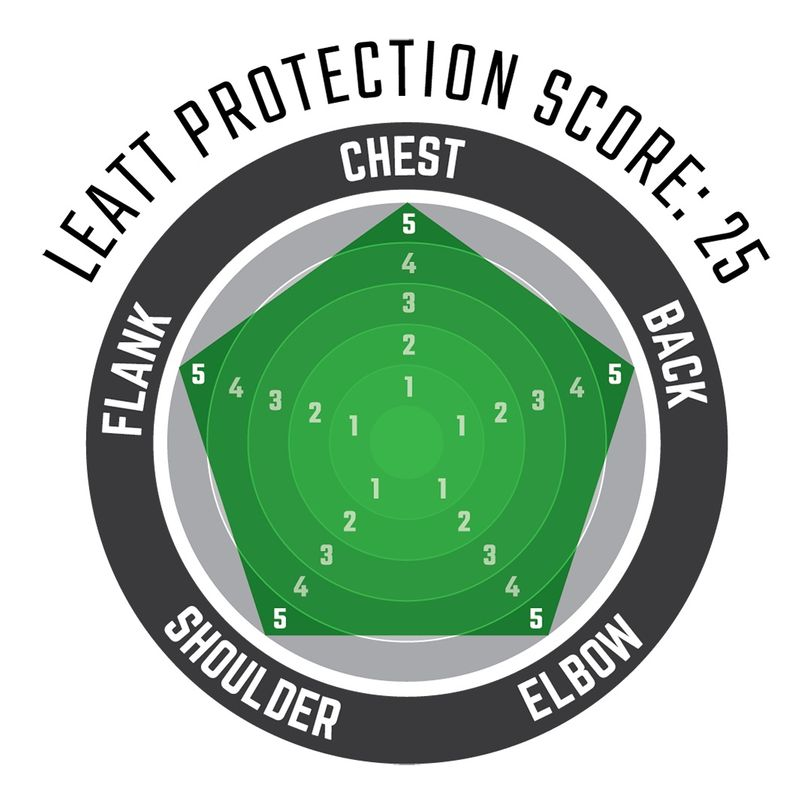Maglia protettiva completa 5.5 a maniche lunghe con protezioni rigide e schiuma anti impatto