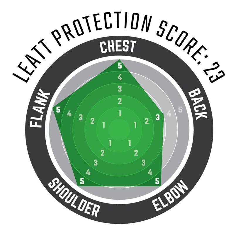 Maglia protettiva completa 5.5 a maniche lunghe con schiuma anti impatto per ragazzi