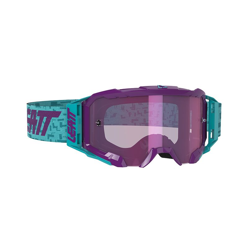 Maschera per motocross Velocity 5.5 Iriz con lenti antiappannamento e Roll-Off Ready