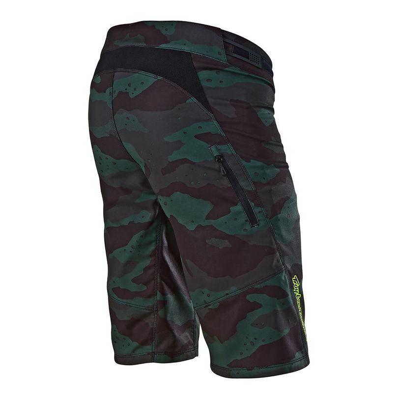 Pantaloncini MTB Ruckus Camo ventilati per MTB, Enduro e DH da donna