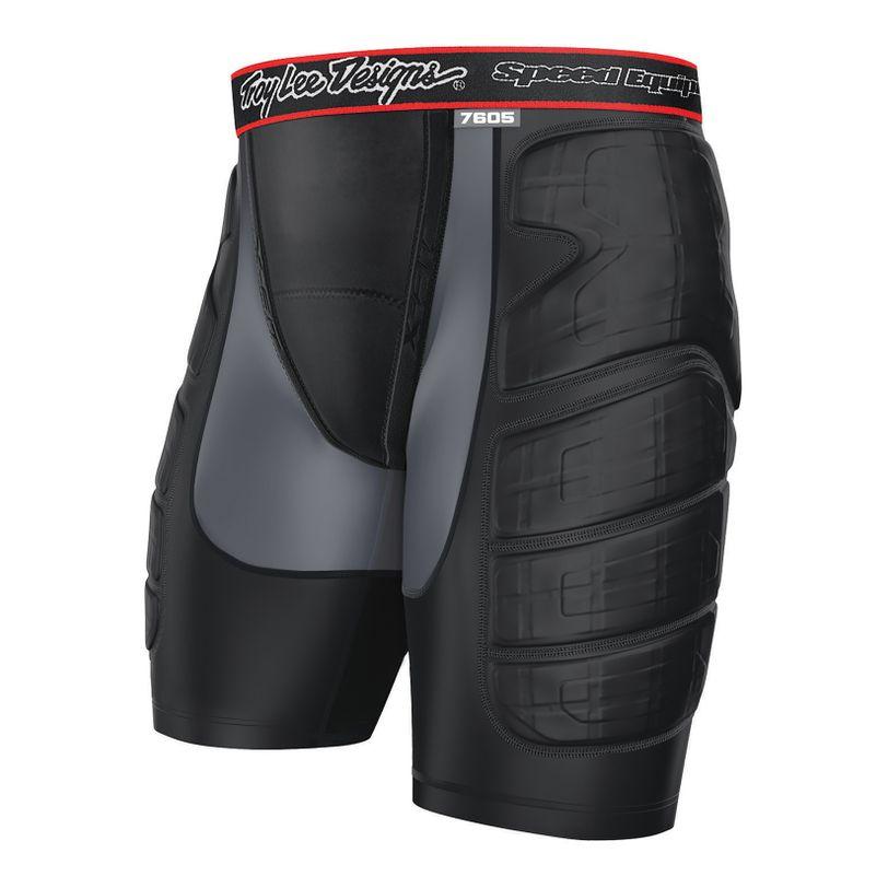 Pantalone protettivo per moto corto LPS7605 elasticizzato per ragazzi