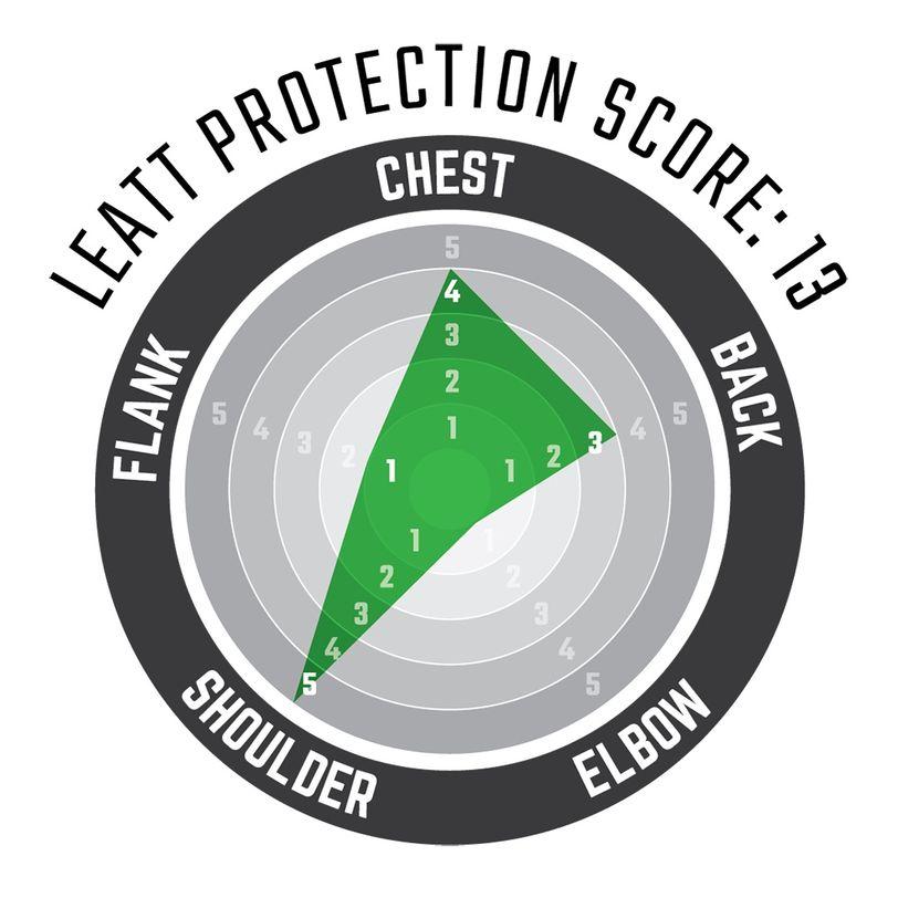 Pettorina Moto protettiva 3DF AirFit Lite a maniche corte con schiuma anti impatto