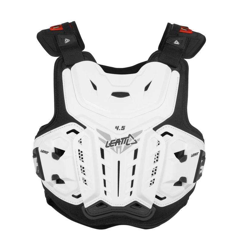 Pettorina moto protettiva Chest Protector 4.5 con inserti in schiuma ventilata anti impatto