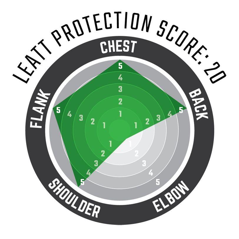 Pettorina moto protettiva Chest Protector 5.5 Pro HD con inserti rigidi anti-impatto