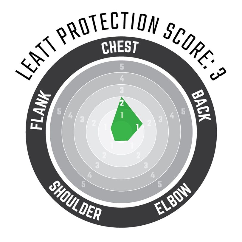 Pettorina moto protettiva leggera 2.5 con inserti in schiuma morbida anti impatto