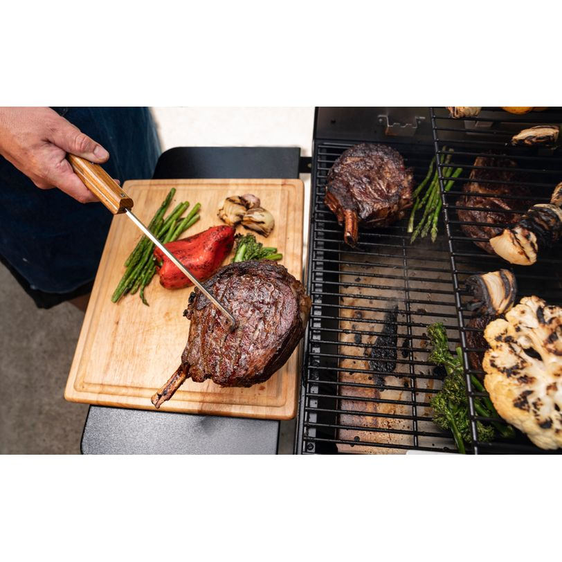 Pinza pigtail giracarne per barbecue Traeger