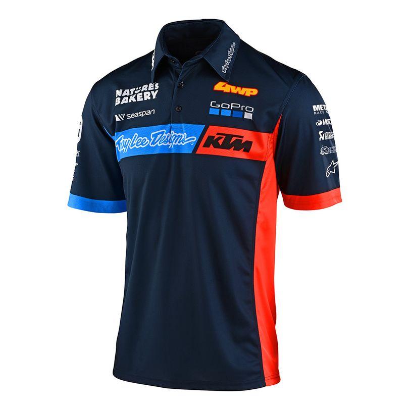 Polo TLD KTM Team Pit da adulto NEW