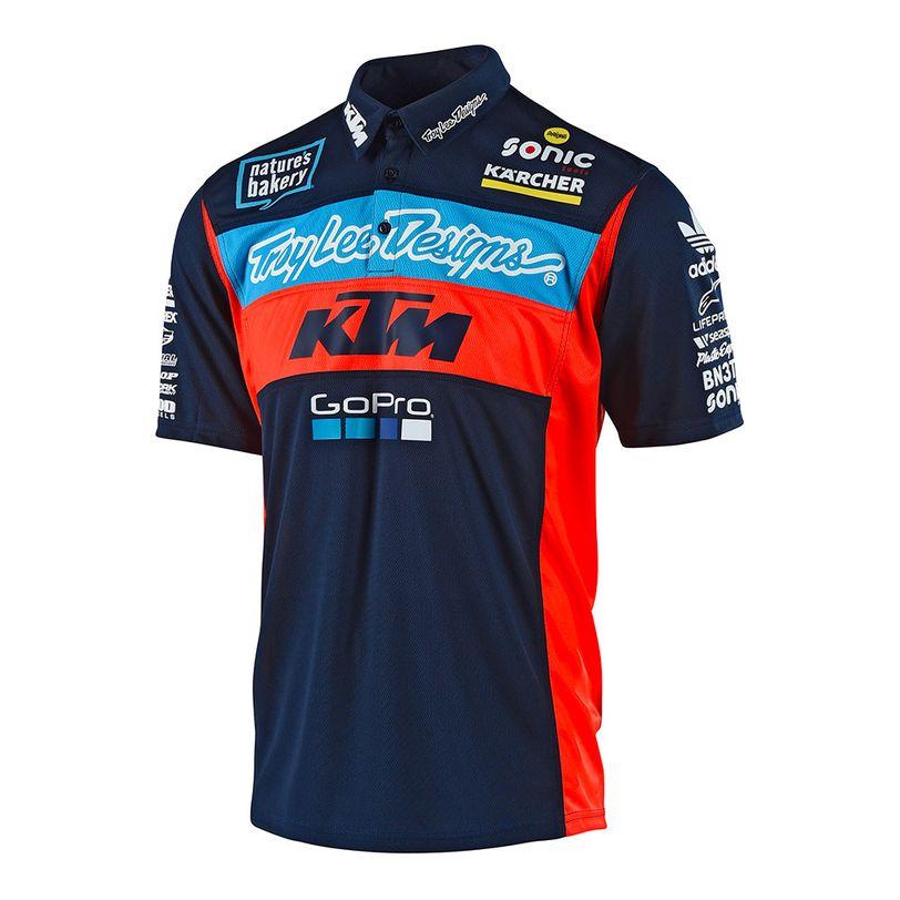 Polo TLD KTM Team Pit da adulto