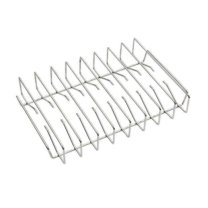 Rack in acciaio inossidabile per costine alla griglia Traeger