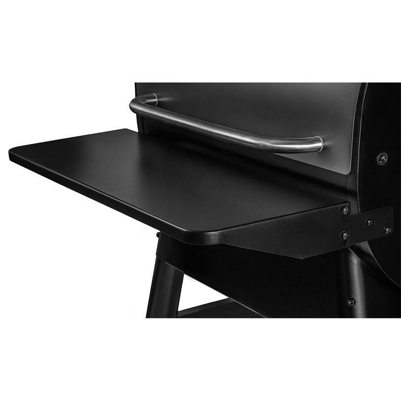 Ripiano frontale reclinabile in acciaio per BBQ Traeger Pro 575 e Ironwood 650
