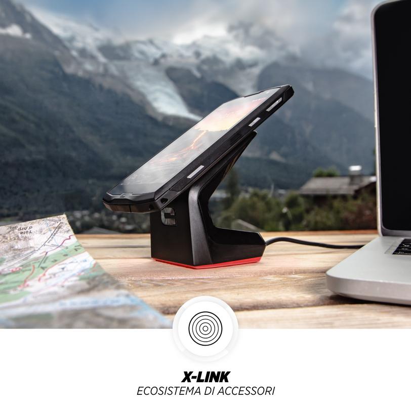 Smartphone resistente Core-M4 con tecnologia VoLTE per chiamate perfette