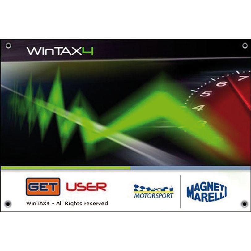 Software Wintax V4 Data Logging
